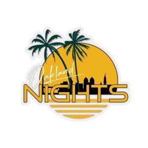 Oakland Nights Sticker