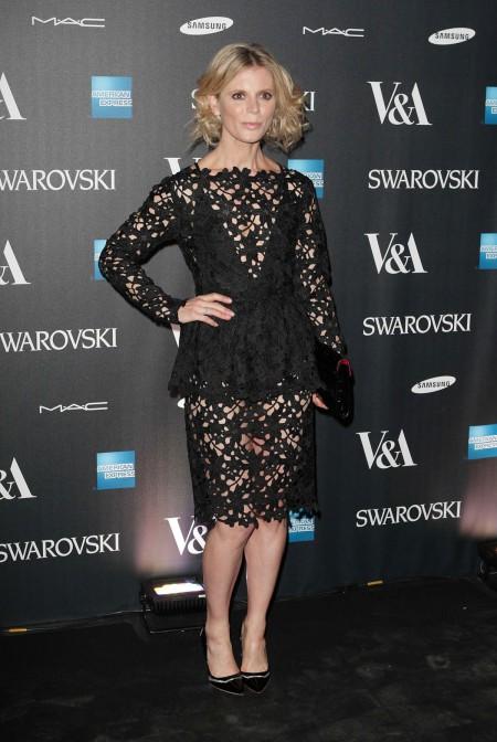 EMILIA FOX at Alexander McQueen: Savage Beauty VIP Private View