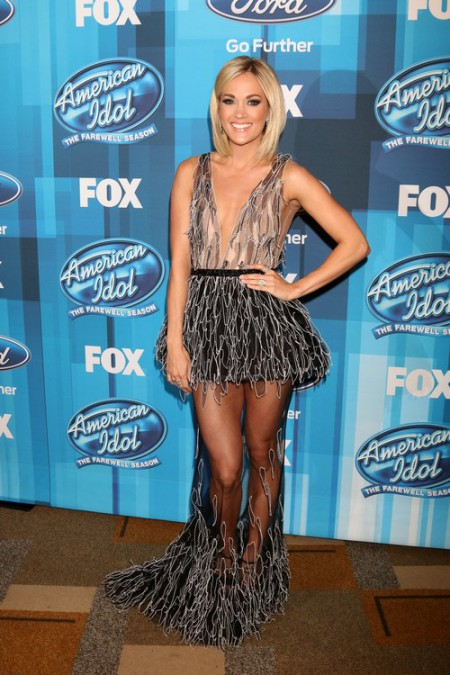 American Idol Finale held at the Dolby Theatre - Arrivals Featuring: Carrie Underwood Where: Los Angeles, California, United States When: 07 Apr 2016 Credit: Nicky Nelson/WENN.com