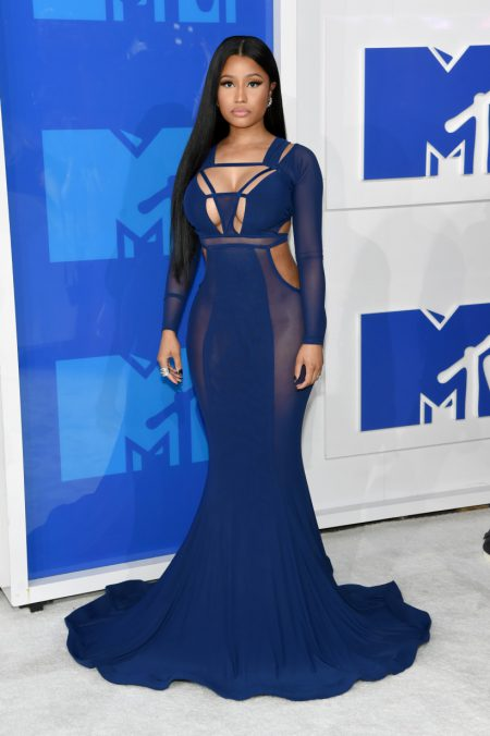 NEW YORK, NY - AUGUST 28: Nicki Minaj attends the 2016 MTV Video Music Awards at Madison Square Garden on August 28, 2016 in New York City. (Photo by Jamie McCarthy/Getty Images)