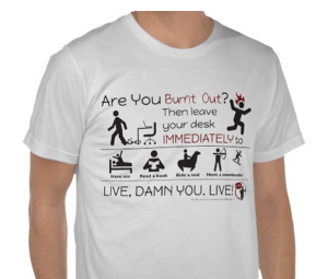 Snag the Burnt Out T-Shirt
