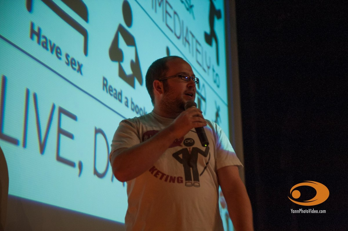 Nick Armstrong at Ignite Fort Collins