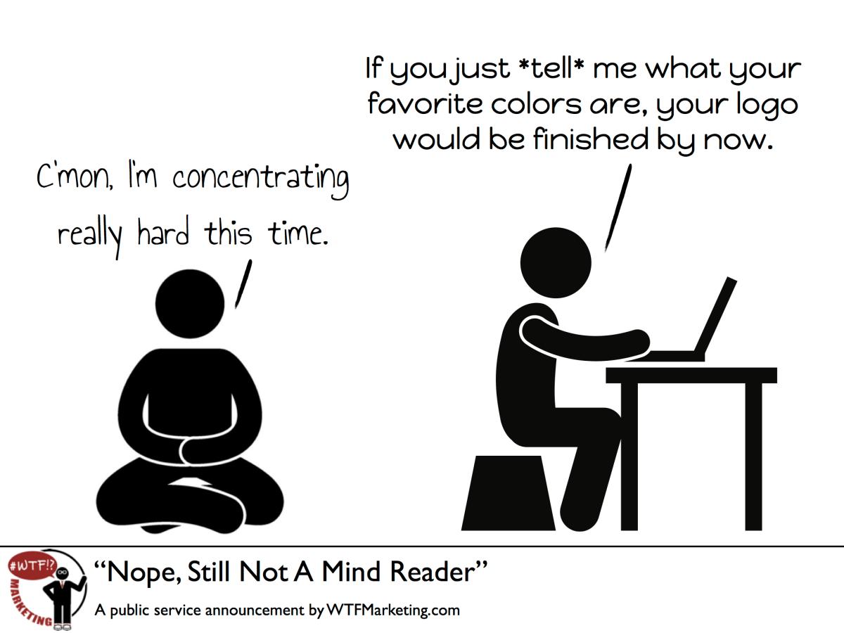 Nope, Still Not A Mind Reader