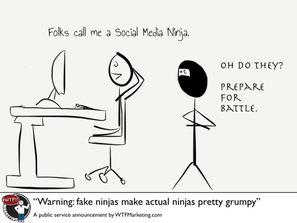 Fake Ninjas Make Real Ninjas Stabby