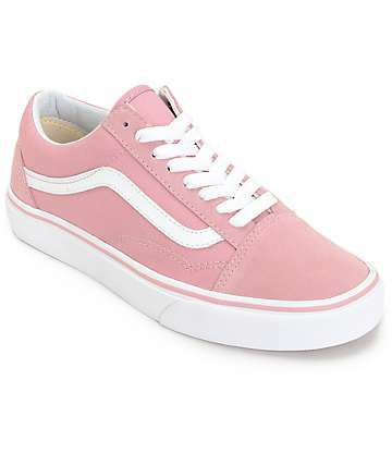 vans old skool rosa palo