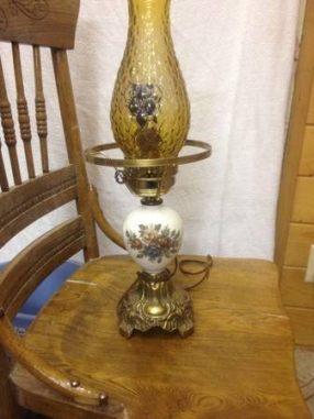 post 249 oil lamp