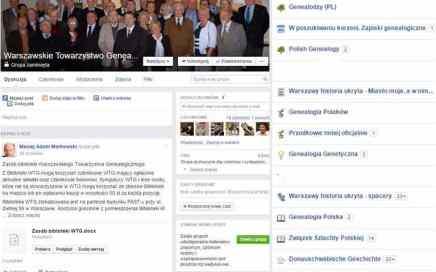 Media społecznościowe w służbie genealogii