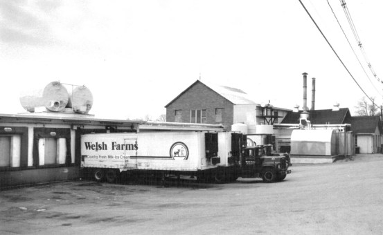 John C. welsh started Welsh Farms in 1891, with the first creamery located on West Mill Road. For years, its sole client was the Hotel Astor in New York City.