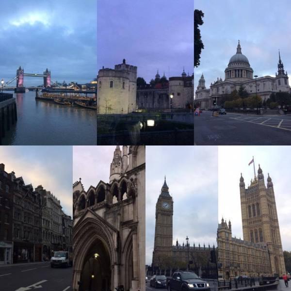 landmarks that I saw