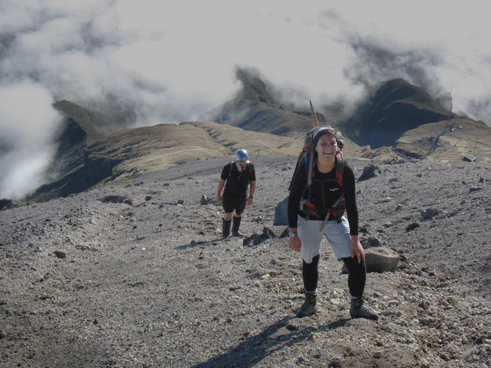 Taranaki, Mt Egmont, scoria