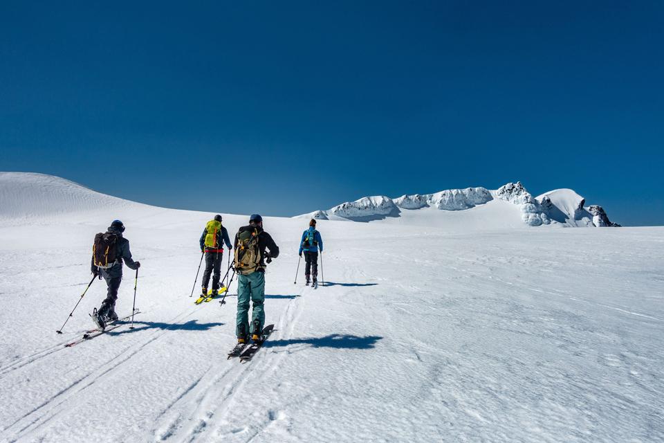 Ruapehu ski touring