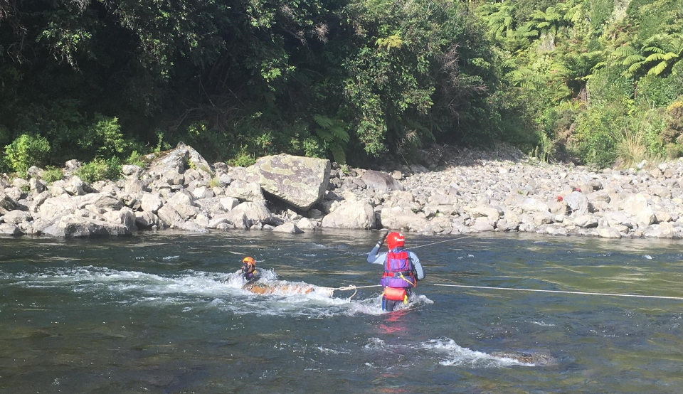 Swift Water Session – Practical Skills for Swift Water