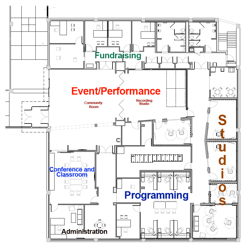 Take a Tour of the Floor Plan for the New WTMD