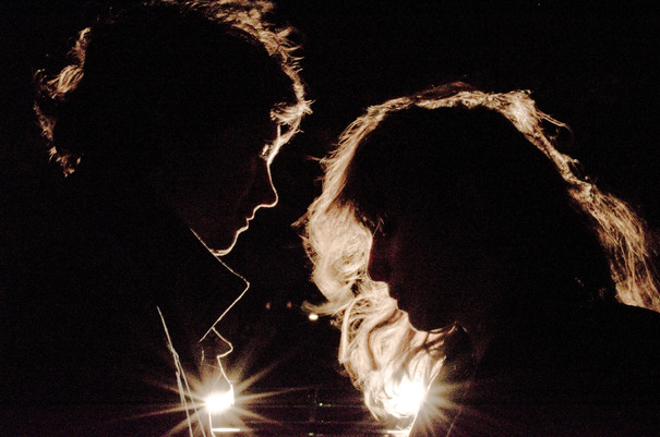 Alex Scally (left) and Victoria Legrand of Beach House spearheaded an all-star tribute to Gene Clark.