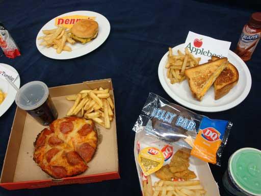 Big Fast Food Chains