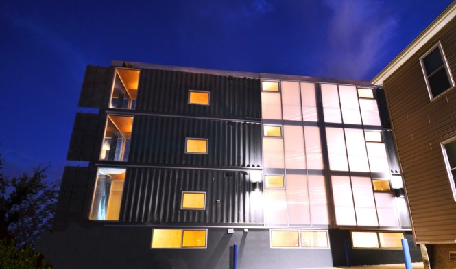 D C S Shipping Container Apartment Project Completed Photos