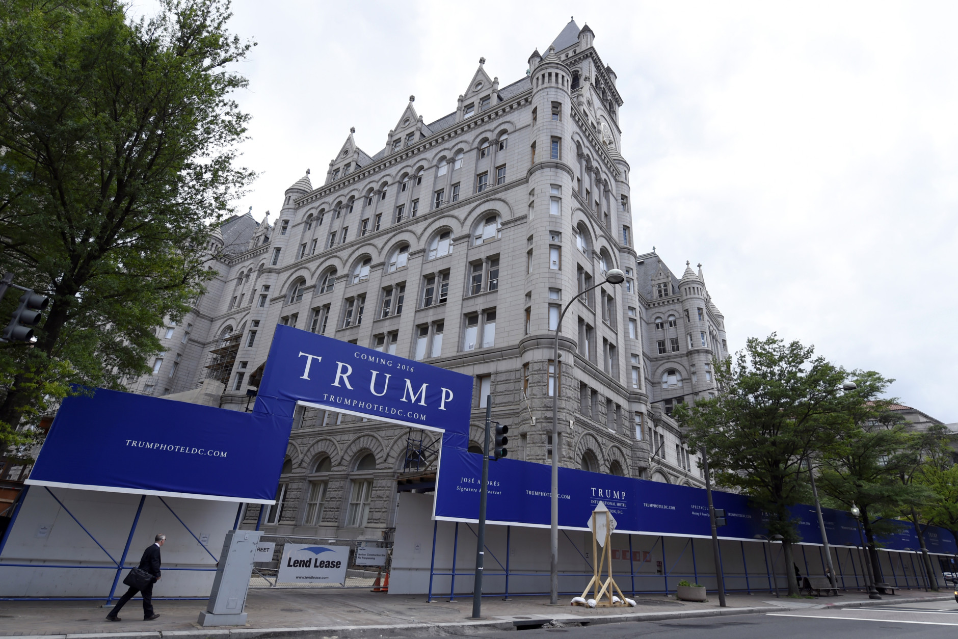 Image result for images of trump hotel washington dc