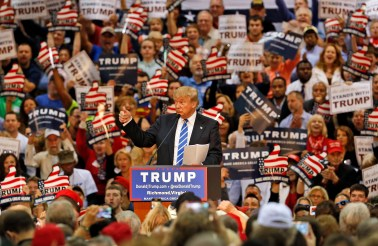 Image result for trump crowds