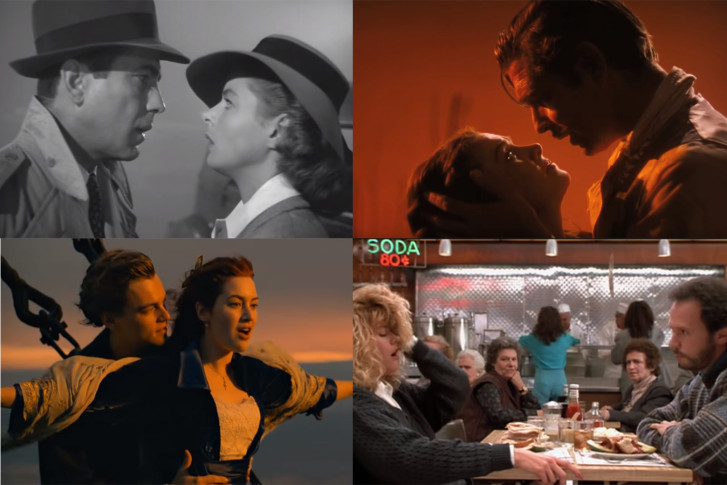 Top 50 Movie Romances WTOP