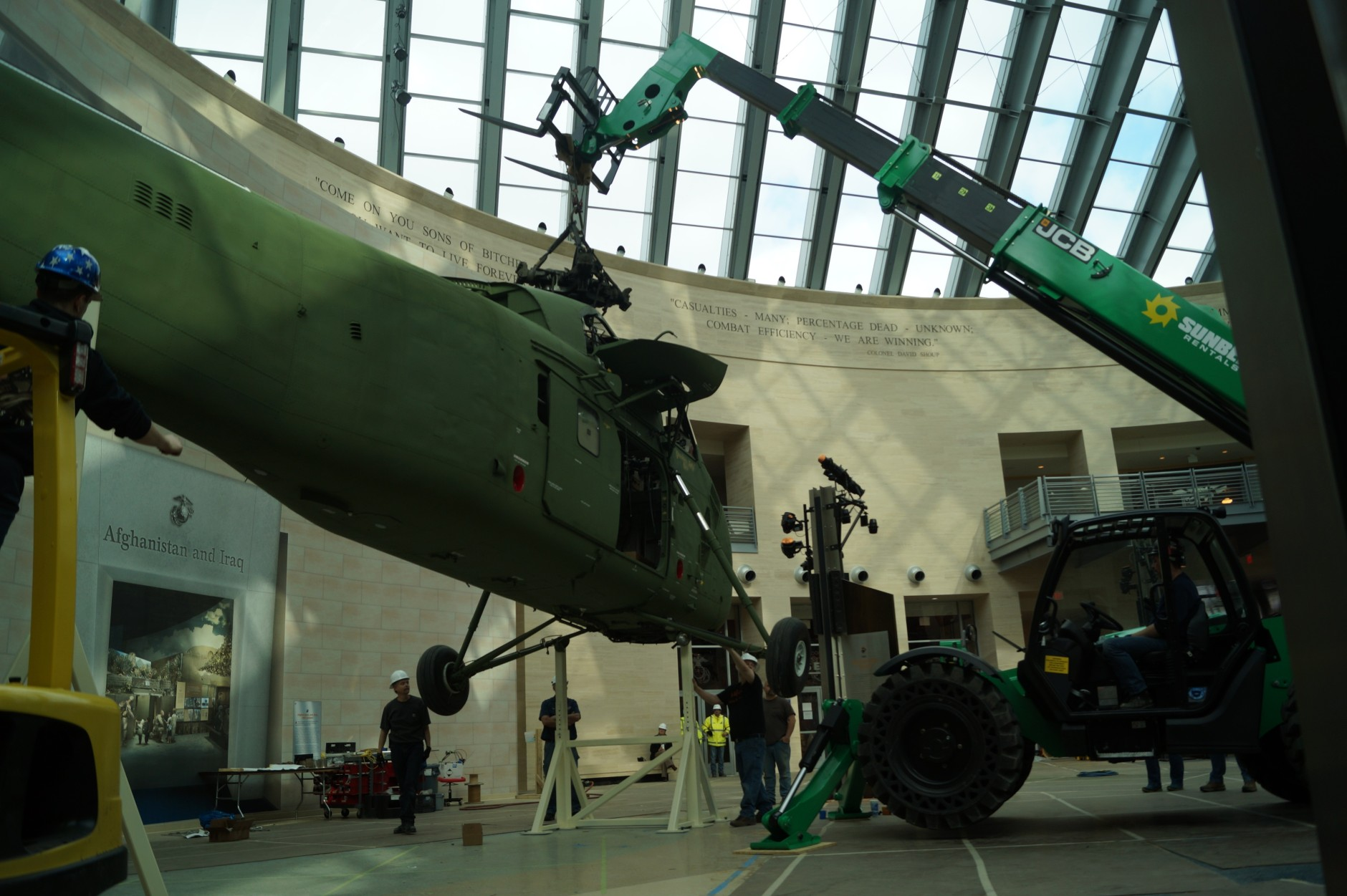Marine Corps Museum Reopens With New Artifacts And