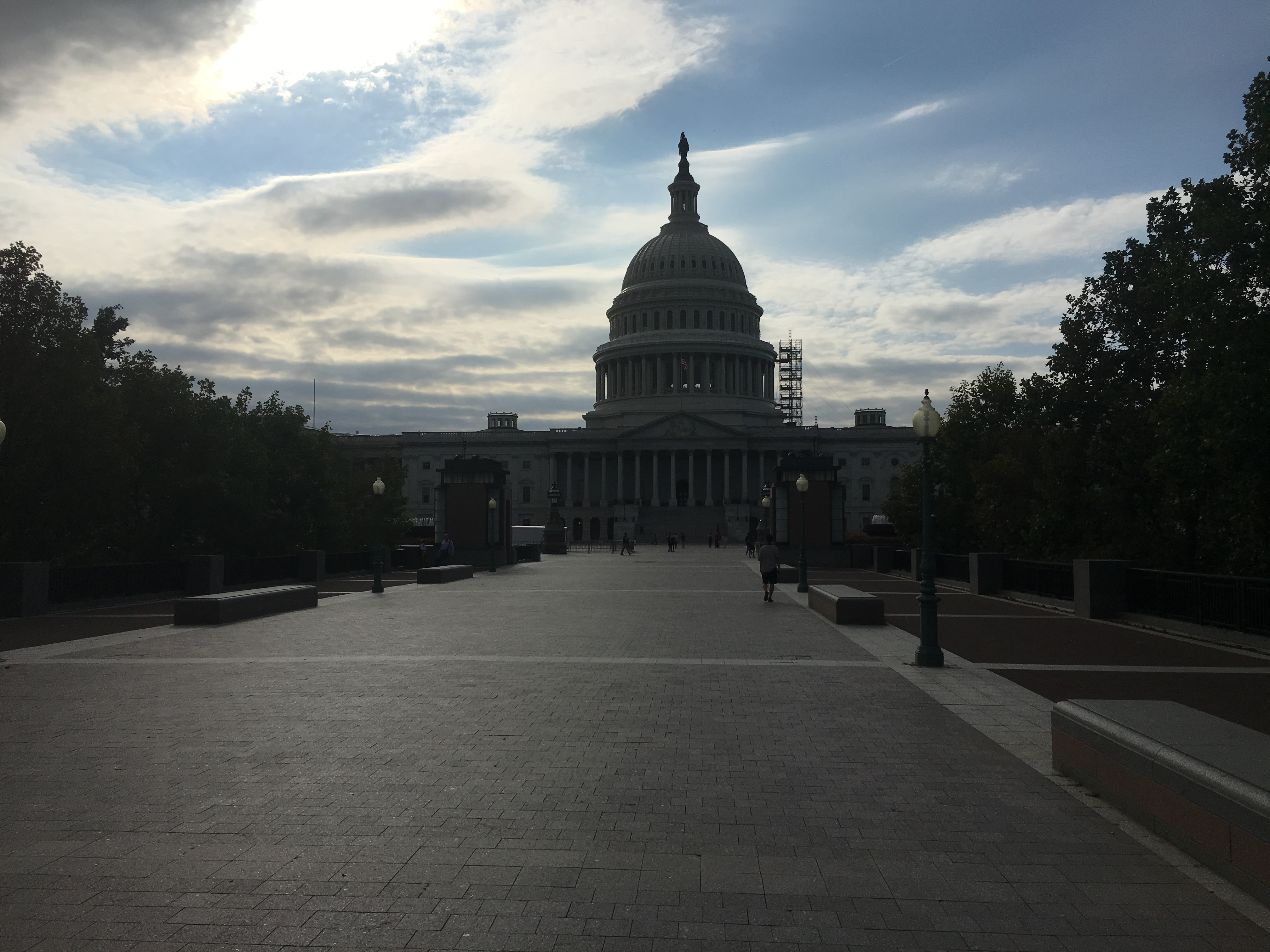 U S Capitol Scaffolding Down But Work Continues