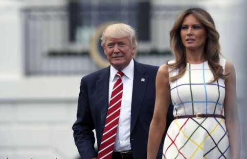 Image result for Melania and trump