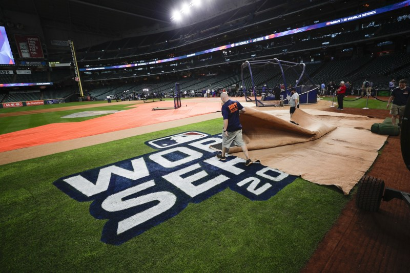 The Latest: Trea Turner to lead off for Nats in Game 1 | WTOP