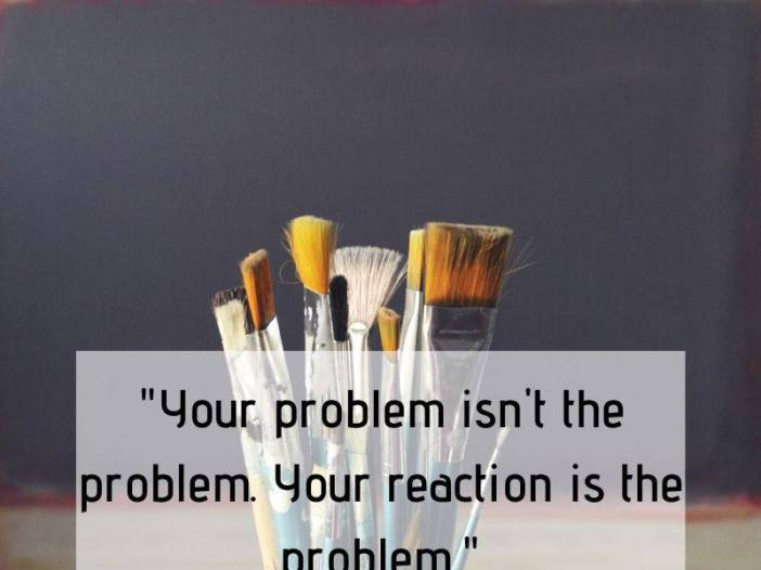 Problem is not the problem whatsapp dp image