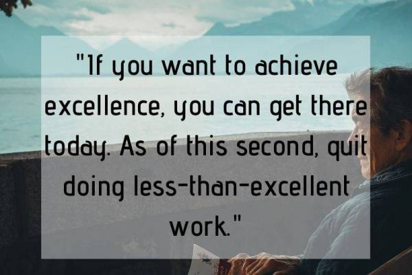 Achieve excellence whatsapp dp image