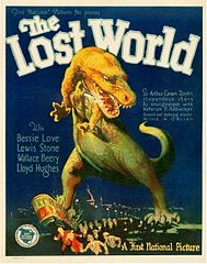 The Lost World 1925 Film Poster