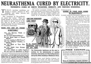 Words To That Effect neurasthenia advertisements