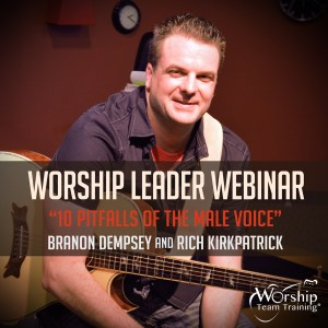 The 10 Pitfalls of the Male Voice Worship Leading Webinar