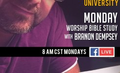"4-30-18 🙌🎸""Worship by Following Him"" p.53 🚀 Monday Worship Bible Study"