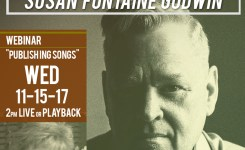 "John Chisum and Susan Fontaine Godwin | ""Publishing Songs"" 11-15-17"
