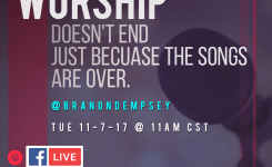 "Show #143 ""Worship Music Is Not…"" 