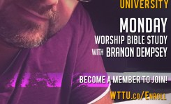"1-28-19 🙌🎸""Worship As One"" p.66 🚀 Monday Worship Bible Study"