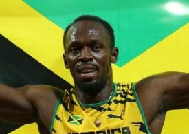 Usain Bolt with WTX Sports team