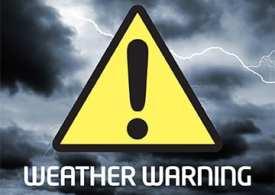 Weather warning as Storm Ali hits UK