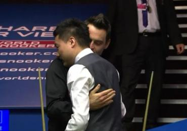 Ronnie O'Sullivan knocked out by Ding Junhui