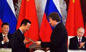 Russian President Vladimir Putin and Chinese leader Xi Jinping