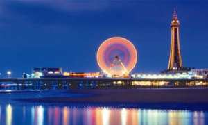 The City of Blackpool in Lancashire, Britain's favorite beach
