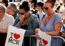 Britain-terror attacks at an Ariana Grande concert-blast