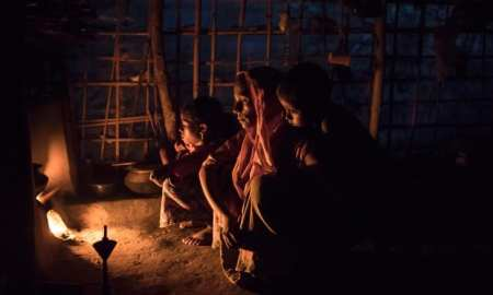 The ethnic cleansing by the Myanmar Government