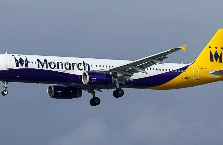 Monarch airlines has collapsed leaving over 100,000 passengers stranded