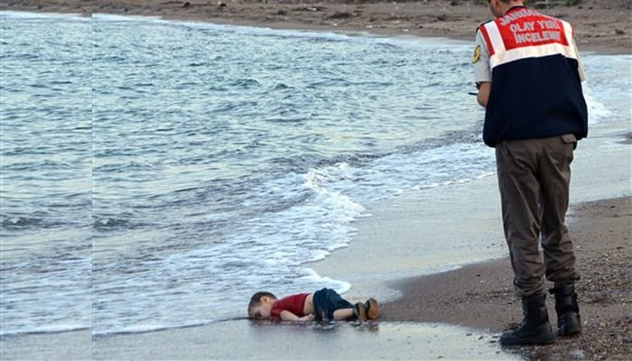No one should ever forget this image - if it no longer disturbs your psyche then humanity has already failed