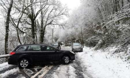 travel chaos as Storm Caroline torments part of the UK