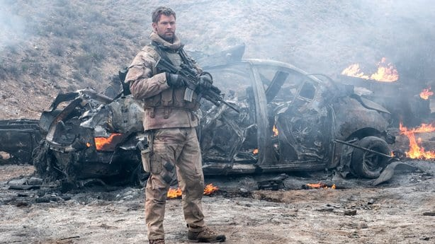 12 Strong starring Chris Hemsworth as U.S. Special Forces Captain Mitch Nelson