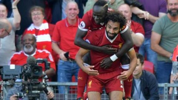 Mo Salah & Sadio Mane - two of Liverpool FC's ferocious attacking four.