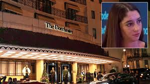 Madison Marriage, the undercover reporter who posed as one of the 130 women hired as hostesses at the dinner exposed the event