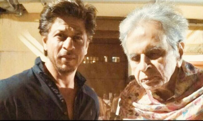 The King of Bollywood visits legend Dilip Kumar